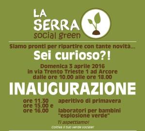 Locandina INAUGURAZIONE Serra (03-04-2016)-page-001